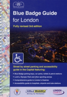 Blue Badge Guide for London, Spiral bound