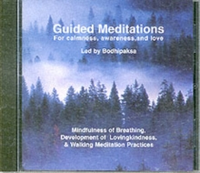 Guided Meditations : For Calmness,Awareness & Love, CD-Audio