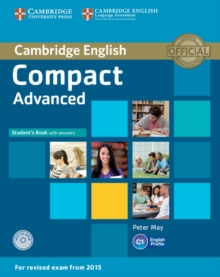 Compact Advanced Student's Book with Answers with CD-ROM, Mixed media product