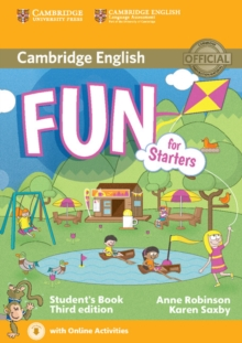Fun for Starters Student's Book with Audio with Online Activities, Mixed media product
