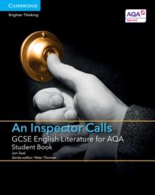 GCSE English Literature for AQA an Inspector Calls Student Book, Paperback Book