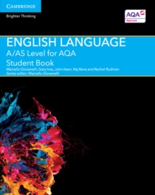 A/AS Level English Language for AQA Student Book, Paperback