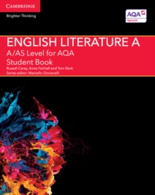 A/AS Level English Literature A for AQA Student Book, Paperback