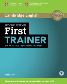 First Trainer Six Practice Tests with Answers with Audio, Mixed media product