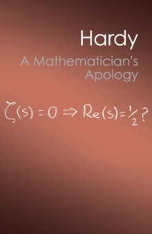 A Mathematician's Apology, Paperback