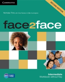Face2face Intermediate Workbook without Key, Paperback