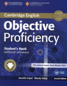 Objective Proficiency Student's Book without Answers with Downloadable Software, Mixed media product