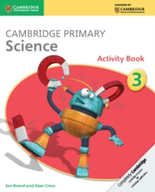 Cambridge Primary Science Stage 3 Activity Book, Paperback
