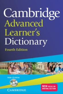 Cambridge Advanced Learner's Dictionary with CD-ROM, Mixed media product