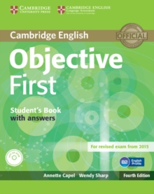 Objective First Student's Book with Answers with CD-ROM, Mixed media product Book