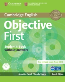 Objective First Student's Book Without Answers with CD-ROM, Mixed media product