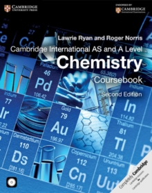 Cambridge International AS and A Level Chemistry Coursebook with CD-ROM, Mixed media product Book