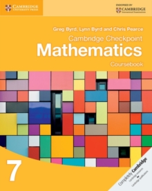Cambridge Checkpoint Mathematics Coursebook 7, Paperback Book