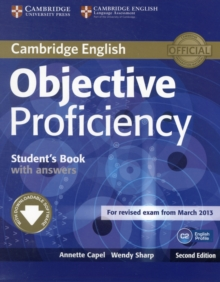 Objective Proficiency Student's Book with Answers with Downloadable Software, Mixed media product