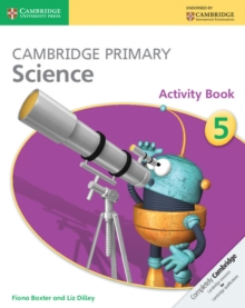 Cambridge Primary Science Stage 5 Activity Book, Paperback