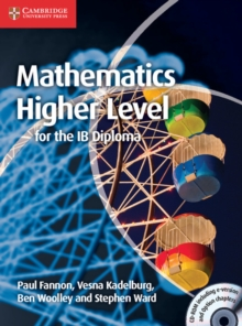 Mathematics for the IB Diploma: Higher Level with CD-ROM, Mixed media product Book