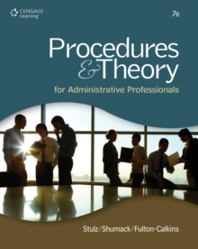Procedures & Theory for Administrative Professionals, Hardback