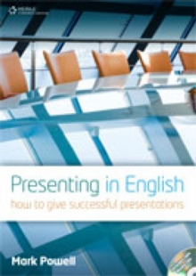 Presenting in English : How to Give Successful Presentations, CD-Audio Book