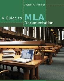 A Guide to MLA Documentation, Pamphlet Book