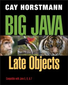Big Java Late Objects, Paperback Book