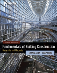 Fundamentals of Building Construction : Materials and Methods, Hardback
