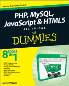 PHP, MySQL, JavaScript & HTML5 All-in-one For Dummies, Paperback Book