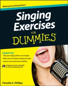 Singing Exercises For Dummies, Mixed media product