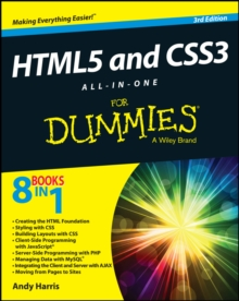 HTML5 and CSS3 All-in-One for Dummies, Paperback Book