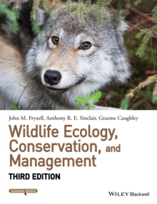 Wildlife Ecology, Conservation, and Management, Paperback