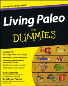 Living Paleo For Dummies, Paperback