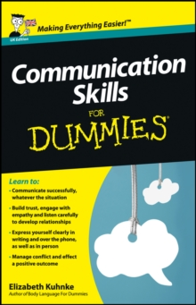 Communication Skills For Dummies, Paperback