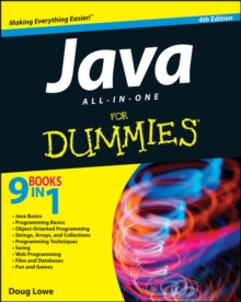 Java All-in-One For Dummies, Paperback