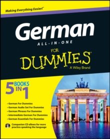 German All-in-One For Dummies, Mixed media product