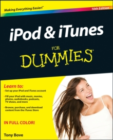 iPod & iTunes For Dummies, Paperback