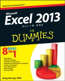 Excel 2013 All-in-one For Dummies, Paperback