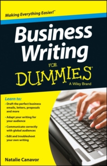 Business Writing For Dummies(R), Paperback