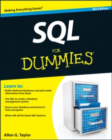 SQL For Dummies, Paperback Book