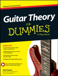Guitar Theory For Dummies : Book + Online Video & Audio Instruction, Paperback