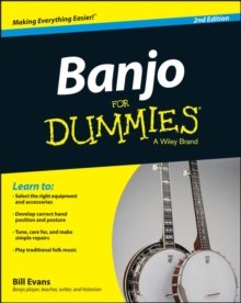 Banjo For Dummies, Mixed media product