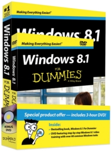 Windows 8.1 for Dummies Book + DVD Bundle, Paperback Book
