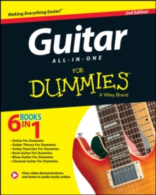 Guitar All-in-one For Dummies, Mixed media product