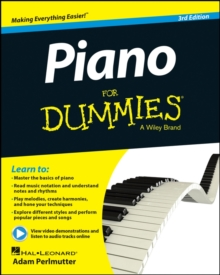Piano For Dummies, Mixed media product