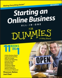 Starting an Online Business All-in-One For Dummies, Paperback