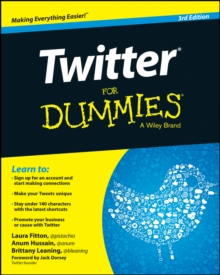 Twitter For Dummies, Paperback Book