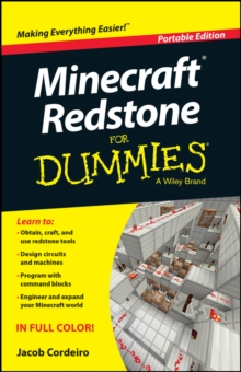 Minecraft Redstone For Dummies, Paperback Book