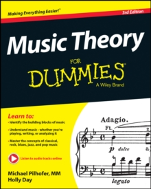 Music Theory For Dummies, Paperback Book