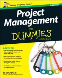 Project Management For Dummies, Paperback