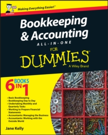 Bookkeeping & Accounting All-in-One For Dummies, Paperback Book