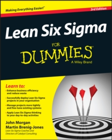 Lean Six Sigma For Dummies, Paperback Book