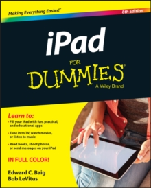 iPad For Dummies, Paperback